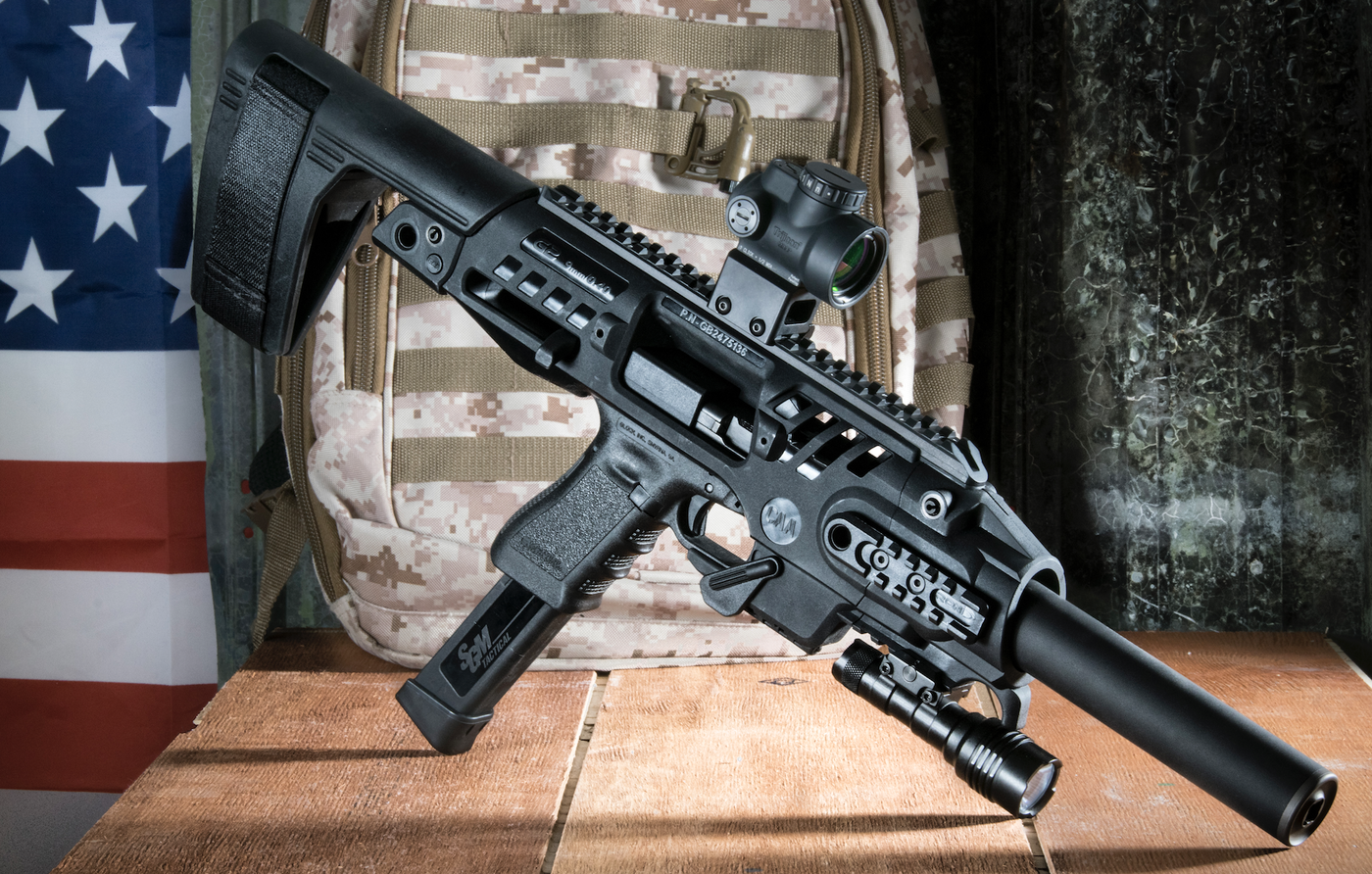 Review: CAA Roni Brace Elevates Pistol From backup